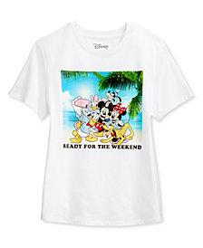 Disney Juniors' Mickey & Friends Selfie Graphic T-Shirt