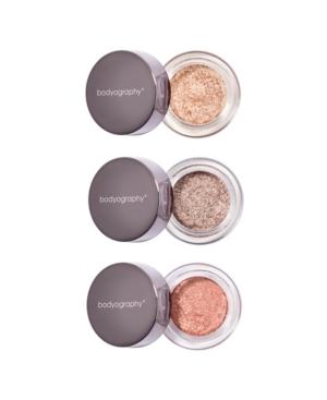 Glitter Pigment Eyeshadow Trio