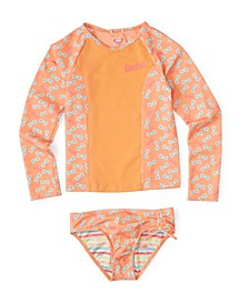 Little Girls Barbie Long Sleeve Set