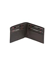 Genuine Leather RFID Blocking Bi-Fold Wallet