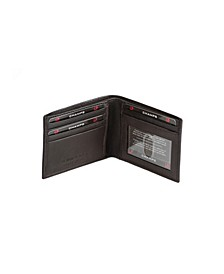 Genuine Leather RFID Blocking Slim Wallet