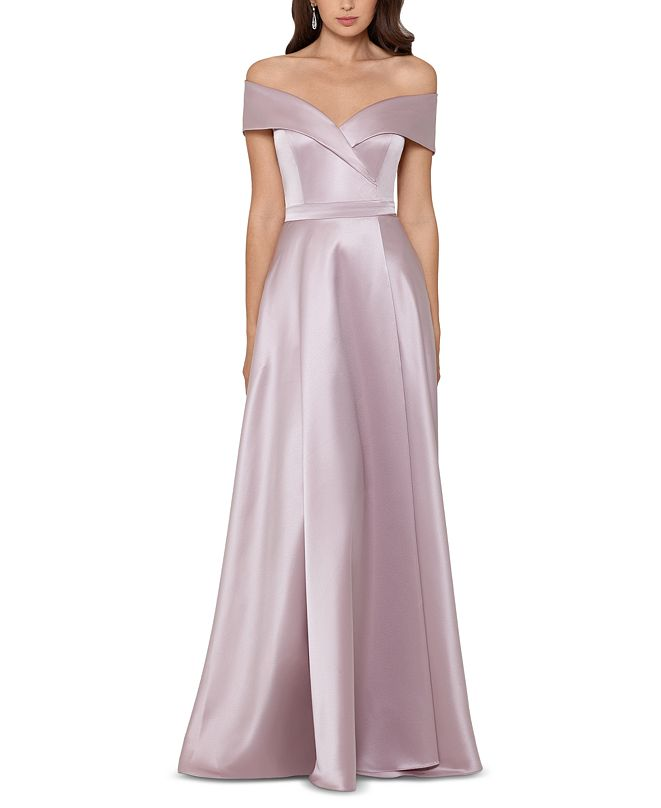 XSCAPE Satin Gown
