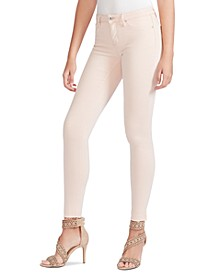 Kiss Me Mid Rise Ankle Skinny Colored Jeans