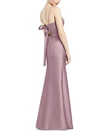 Bow-Back Gown