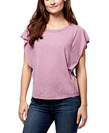 Flutter Dolman-Sleeve Top