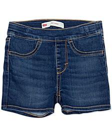Little Girls Pull-On Shorty Shorts