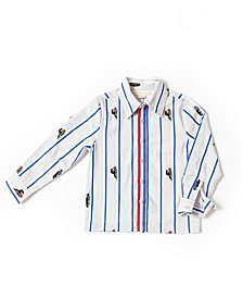Toddler Boys Poplin Shirt