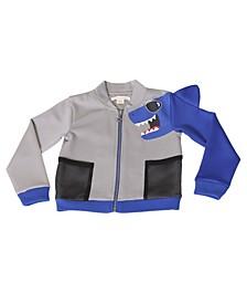 Toddler Boys Blue Shark Scuba Jacket