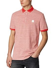 BOSS Men's PSelf Dark Orange Polo Shirt