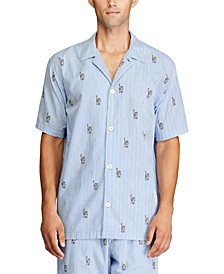 Men's Relaxed-Fit Pajama Shirt