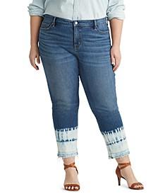 Plus Size Premier Straight Ankle Jeans
