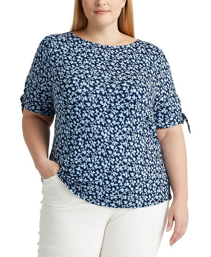 Lauren Ralph Lauren - Plus Size Soft Jersey Top