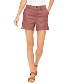 Petite Chino Shorts, Created for Macy's