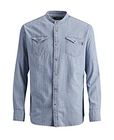 MEN'S PREMIUM LONG SLEEVE WOVEN SHIRT
