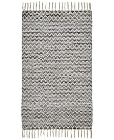 "Knitted Chevron 27""x 45"" Accent Rug"