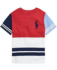 Toddler Boys Color-Blocked Cotton T-shirt