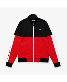 Men's Sport Long Sleeve Colorblock Jacket
