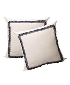 Dream Cotton Euro Sham Cover, Pack of 2