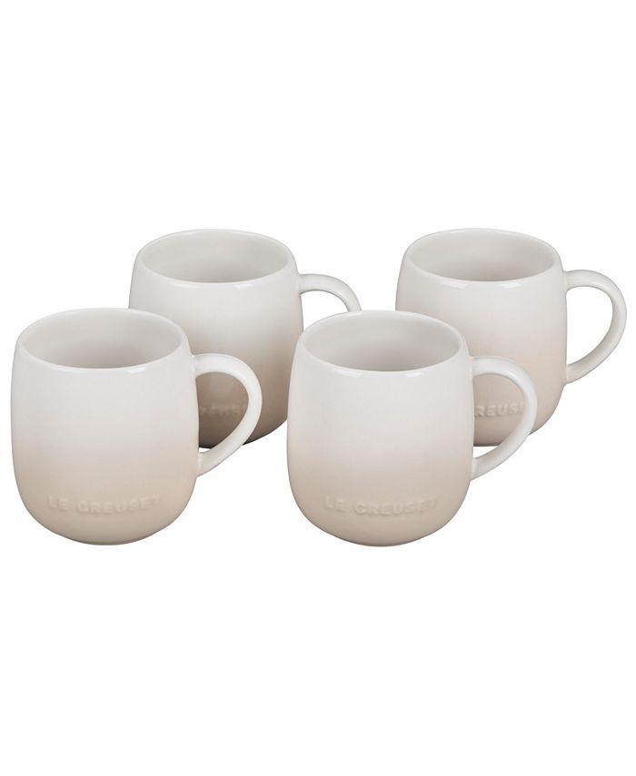 Le Creuset - Set of 4 Stoneware Mugs, 13-Oz.