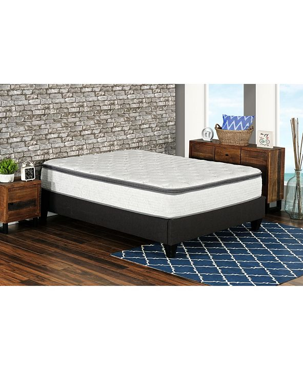 "Primo International Primo Berri 12"" Pocket Coil Lumber Gel Cushion Firm Mattress - Twin"