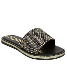 Women's Yippy Beaded Slide Sandal