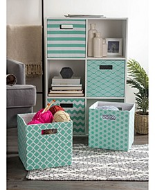 Polyester Square Storage Cube