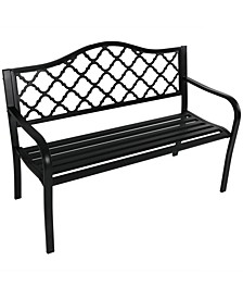 Cast Iron Outdoor Garden Bench