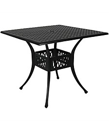 Outdoor Square Patio Dining Table