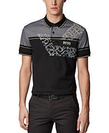 BOSS Men's Paddy Pro 2 Black Polo Shirt