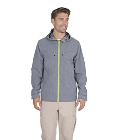 Mens Hooded Lightweight Rain Jacket