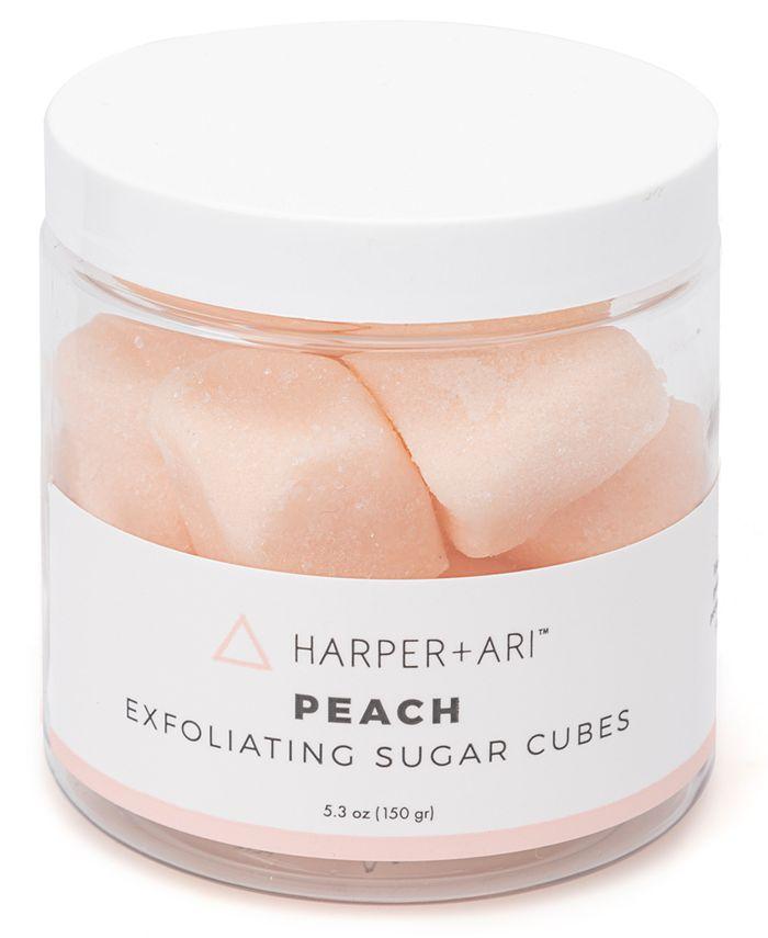 Harper + Ari - Harper + Ari Peach Exfoliating Sugar Cubes, 5.3-oz.