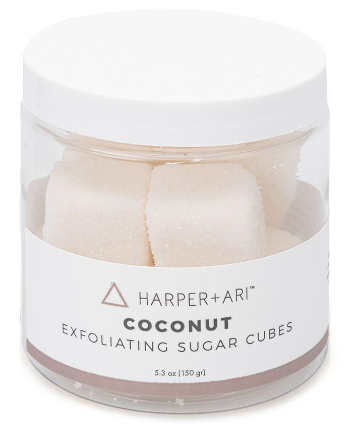 Harper + Ari - Harper + Ari Coconut Exfoliating Sugar Cubes, 5.3-oz.