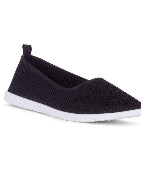 Danskin CLARITY Slip On Knit Athleisure Flat