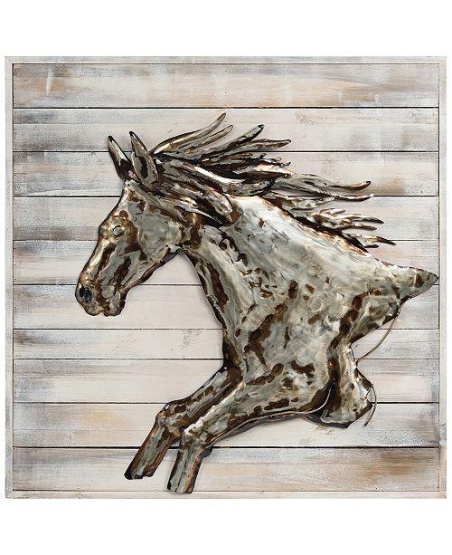 Empire Art Direct Golden Horse Handed