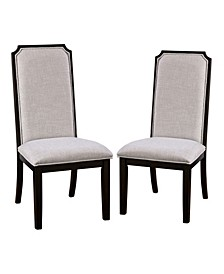 Isar Padded Seat and Back Side Chairs, Set of 2