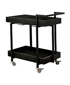 Flandreau Two-Shelf Serving Cart