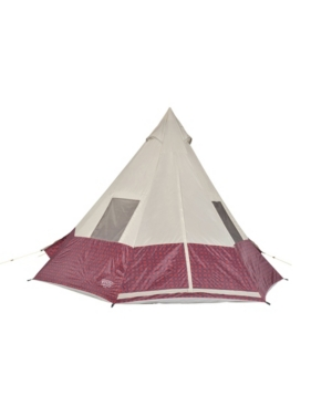 Wenzel Shenanigan Large 5 Person Trail Camping Teepee Tent