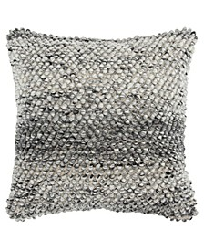 """Chunky Knit Down Filled Decorative Pillow, 20"""" x 20"""""""