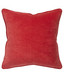 "Solid Decorative Pillow Cover, 20"" x 20"""