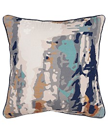 """Abstract Decorative Pillow Cover, 20"""" x 20"""""""