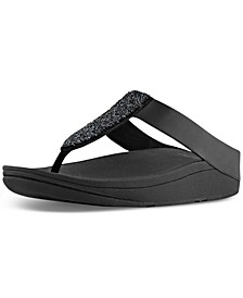 Women's Sparkle Crystal Thong Sandals