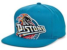 Detroit Pistons  Hardwood Classic Cropped Cap
