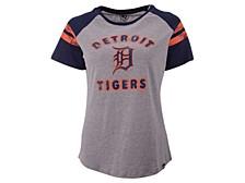 Women's Detroit Tigers Fly Out Raglan T-shirt