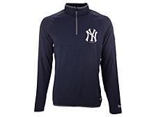 Men's New York Yankees Brushback Quarter Zip Pullover