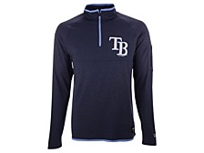 Men's Tampa Bay Rays Brushback Quarter Zip Pullover