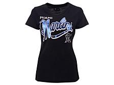 Women's Miami Marlins Homeplate T-shirt