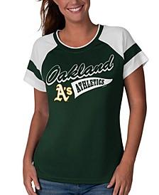 Women's Oakland Athletics MLB Biggest Fan T-Shirt