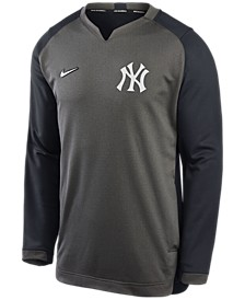 New Men's York Yankees Authentic Collection Thermal Crew Sweatshirt