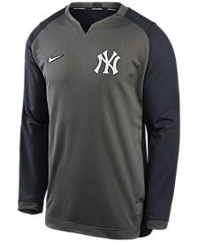 New Men's York Yankees Authentic Collection Thermal Crew Sweatshirt