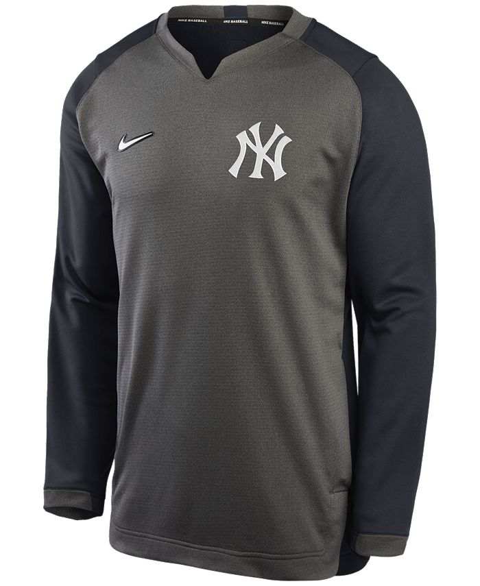 Nike - Men's York Yankees Authentic Collection Thermal Crew Sweatshirt